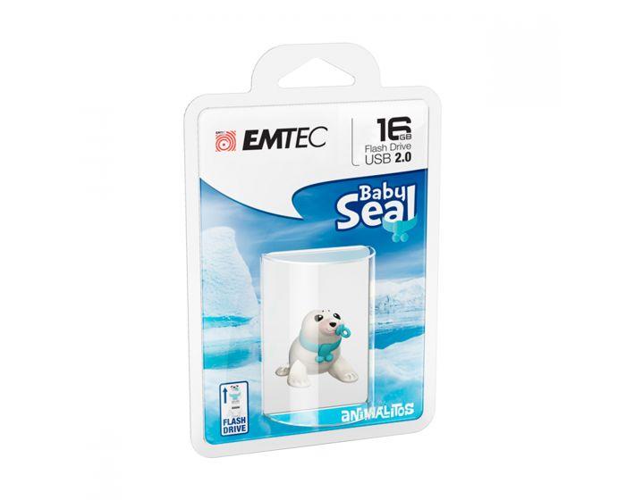 Emtec USB2.0 M334 16GB Animalitos Baby Seal - ECMMD16GM334