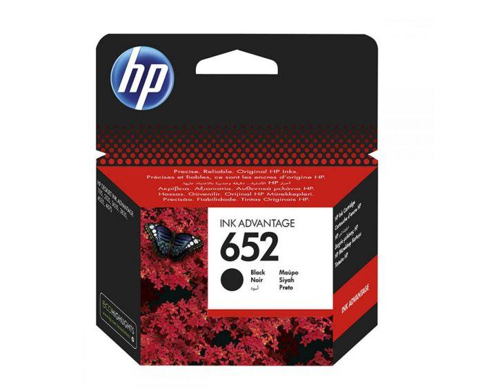 Ink HP No 652 Black Ink Crtr 360 pgs