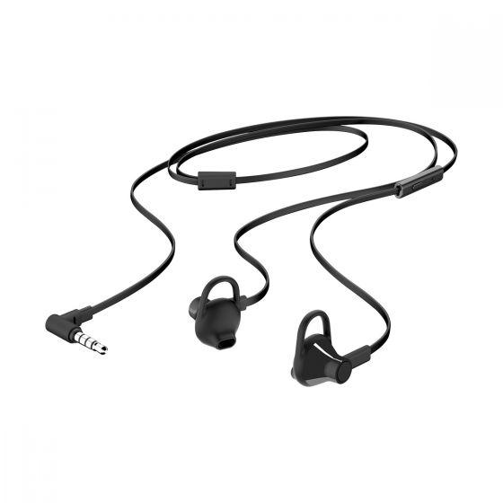 Μαύρα ακουστικά ψείρες ΗΡ 150