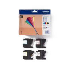 Ink Brother LC-223VALBP Value Pack Black,Cyan, Magenta, Yellow - 2.200k