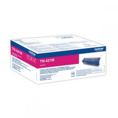 Toner Laser Brother TN-421M Magenta - 1.8K Pgs