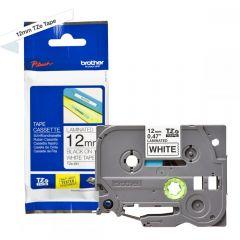 Labelling Tape Cassette Brother TZE-231 12mm Black On White Tape