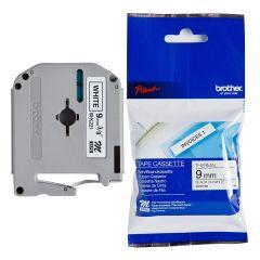 Labelling Tape Cassette Brother MK-221BZ 9mm Black On White Tape