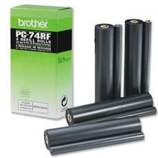 Ink Refill Fax Brother PC-74RF 576 Pgs - 4 Rolls
