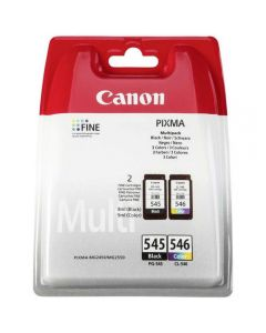 Ink Canon PG-545 CL-546 Multi Pack Black and Colour 8287B005