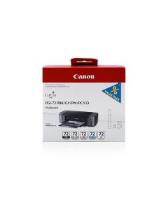 Ink Canon PGI-72 Combo Pack (PBK,GY,PM,PC,CO)