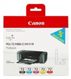 Ink Canon PGI-72 Multi Pack (MBK,C,M,Y,R)