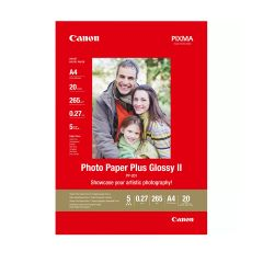 Paper Canon PP-201 Glossy II Photo Paper Plus A4 - 20 Sheets