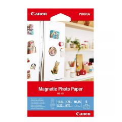 """Paper Canon MG-101 Magnetic Photo, 4x6"""", 5 sheets"""