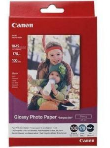 Photo Paper Canon Glossy GP-501 A6 100Shts 170gr