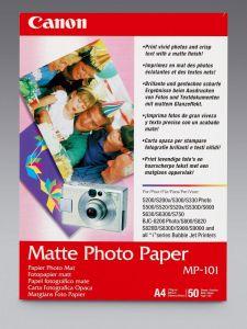 Photo Paper Canon Matte A4 50Shts 170g