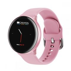 """Canyon """"Marzipan"""" Smartwatch, 1.22"""" IPS, IP68 PINK - CNS-SW75PP"""