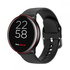 """Canyon """"Marzipan"""" Smartwatch, 1.22"""" IPS, IP68 BLK-RED - CNS-SW75BR"""