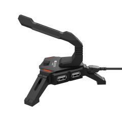 Canyon 2 in 1 Gaming Mouse Bungee stand and USB 2.0 hub - CND-GWH100
