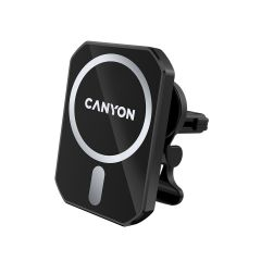 Canyon MagSafe Car Holder and Wireless Charger USB-C, C-15-01, 15W - CNE-CCA15B01