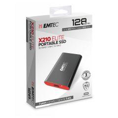 Emtec Εξωτερικός SSD 3.2Gen2 X210 128GB Portable