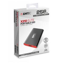 Emtec Εξωτερικός SSD 3.2Gen2 X210 256GB Portable