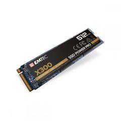 Emtec Εσωτερικός Σκληρός Δίσκος SSD M2 Nvme X300 512GB Intern