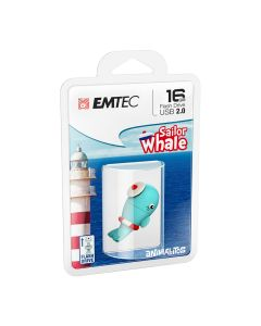 Emtec Flash USB 2.0 M337 16GB Whale - ECMMD16GM337