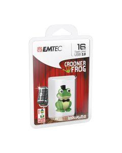 Emtec Flash USB 2.0 M339 16GB Crooner Frog - ECMMD16GM339