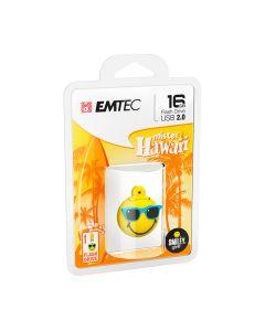 Emtec Flash USB 2.0 SW108 16GB SW Mr Hawaii Y - ECMMD16GSW108
