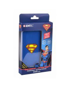 Emtec Power Bank 5000mAh Superman - ECCHA5U900DC01
