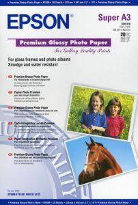 Premium Photo Paper Epson Gloss A3  20Shts 255g