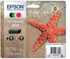 Ink Epson T03U640 C13T03U640 Multipack Black 3.4ml CMY 2.4ml x 3