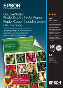 Double Sided Photo Paper Epson A4 50Shts 140g