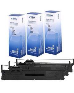 Ribbon Epson C13S015339 Black 3pcs