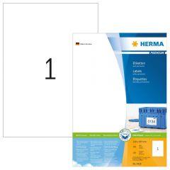 Labels Herma Copier CP 210 x 297mm - 100Τ 100 Shts