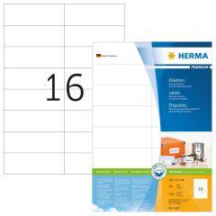 Labels Herma Copier CP 105 x 37mm - 1600Τ 100 Shts
