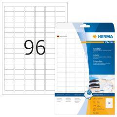 Labels Herma Inkjet IP 30.5 x 16.9mm - 2400Τ - 25Shts