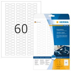 Labels Herma Jewelry 1500pcs - 25Sheets 5116