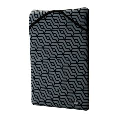 HP Protective Reversible 15.6 Blk-Geo Sleeve - 2F2L0AA