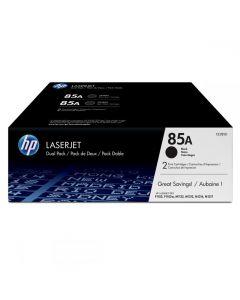 Toner Laser HP 85A LJ P1102 Black Dual Pack