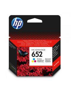 Ink HP No 652 Tri-Color Ink Crtr 200pgs