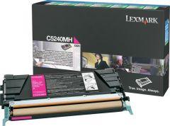 Toner Laser Lexmark C5240MH Magenta High Yield 5K Pgs