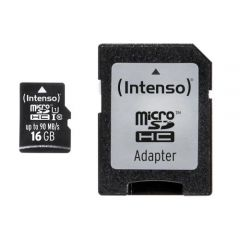 Micro SD Intenso 16GB Card Class 10 UHS-I Professional