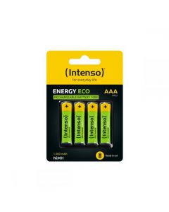 Intenso Rechargeable Batteries AAA HR03 1000 mAH 4cs 7505214