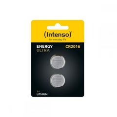 Intenso Batteries button cell Ultra Energy CR2016 2pcs 7502412