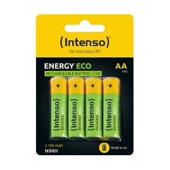Intenso Rechargeable Batteries AA HR6 2100 mAH 4pcs 7505524