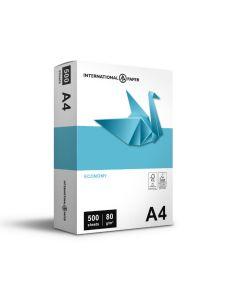 International Paper - Economy A4 80gsm - 500sheet  (αγορά πολλαπλάσια των 5 δεσμίδων)