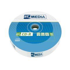 MyMedia - CDR 52X 10PK Wrap 700MB (by Verbatim)- 69204