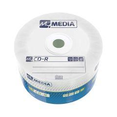 MyMedia - CDR 52X 50PK Wrap 700MB (by Verbatim)- 69201