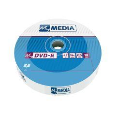 MyMedia - DVD-R 52X 10PK Wrap 4.7GB (by Verbatim) - 69205