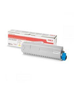 Toner Laser Oki 46861305 High Capacity Yellow - 10K Pgs