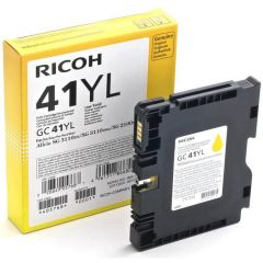 Gel Color Laser Ricoh GLGC41YL 405768 Yellow 600 Pgs