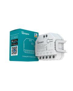 Sonoff DUALR3 Wi-Fi  Smart Switch, Ενδιάμεσος Διακόπτης Με Μέτρηση Κατανάλωσης - 6920075775402