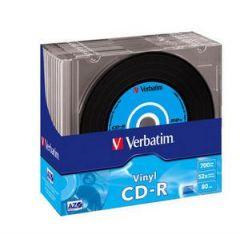 CD-R VERBATIM 43426 AZO 700MB 52X VINYL SURFACE 10T